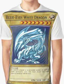 Blue Eyes White Dragon Graphic T-Shirt
