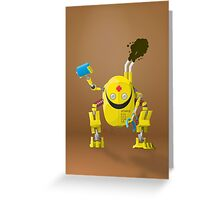 BY34R-D Greeting Card