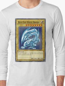 Blue Eyes White Dragon Long Sleeve T-Shirt