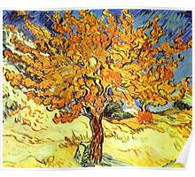 The Mulberry Tree, Vincent van Gogh Poster