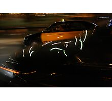 Taxi Trip  Photographic Print