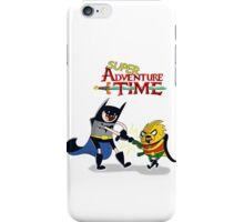 super adventure time iPhone Case/Skin