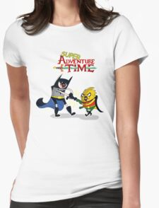 super adventure time Womens Fitted T-Shirt