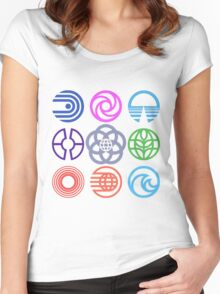 EPCOT Pavilions Women's Fitted Scoop T-Shirt