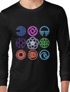 EPCOT Pavilions Long Sleeve T-Shirt
