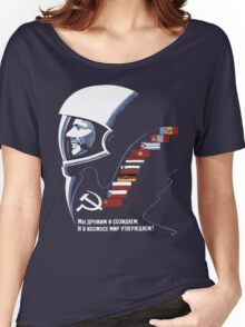 Soviet Space Tee Women's Relaxed Fit T-Shirt