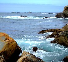Carmel California Pacific Ocean by Diana Graves Photography
