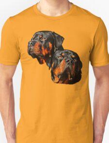 Rottweiler Dog Portrait T-Shirt