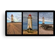 Lighthouse Triptych Canvas Print