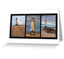 Lighthouse Triptych Greeting Card