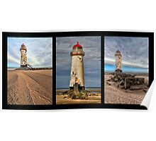 Lighthouse Triptych Poster
