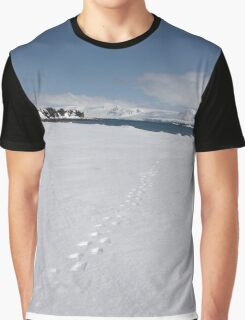 Leave Only Footprints Graphic T-Shirt