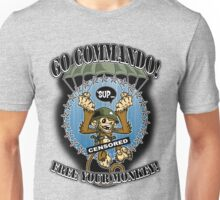 Go Commando! Unisex T-Shirt