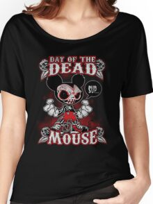 Day of the Dead Mouse Women's Relaxed Fit T-Shirt