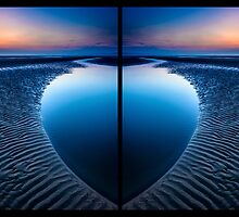 Blue Heart Beach by Adrian Evans