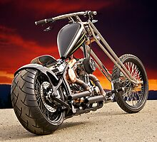 'Warlord' Outlaw Chopper by DaveKoontz