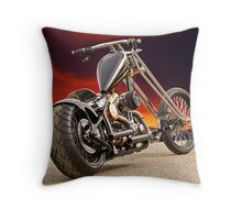 'Warlord' Outlaw Chopper Throw Pillow