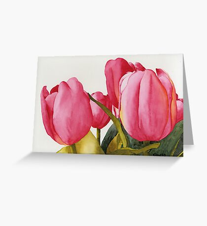 Tulips For You Greeting Card