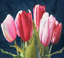 Six Tulips by Ken Powers