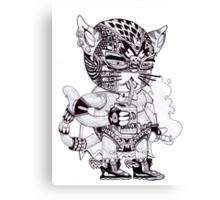 El Gato Bandito Canvas Print