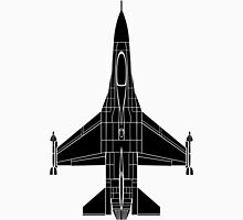 F-16 Fighting Falcon Black Unisex T-Shirt