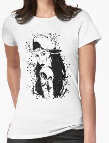 girl  black T-Shirt