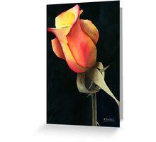 Rio Samba Rose Greeting Card