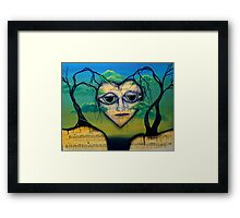 FORGIVENESS - Surreal art by Angieclementine Framed Print