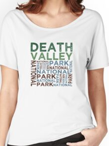 Death Valley National Park Women's Relaxed Fit T-Shirt