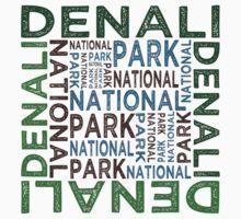 Denali National Park Kids Tee