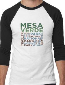 Mesa Verde National Park Men's Baseball ¾ T-Shirt