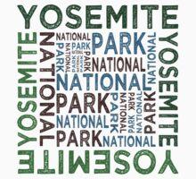 Yosemite National Park Kids Tee