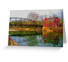 Down By The Old Mill Stream Greeting Card