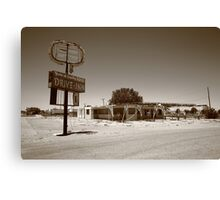 Route 66 - Abandoned Drive-In Canvas Print