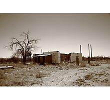 Route 66 Ruins Photographic Print
