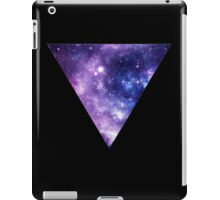 Upside Down Space Triangle iPad Case/Skin