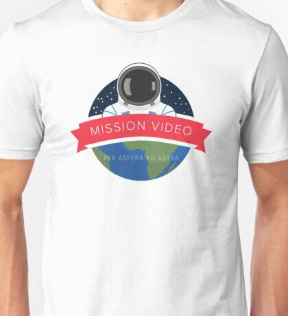 NASA Mission Video Space Camp Design Unisex T-Shirt