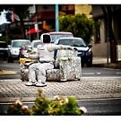 Robot in Hastings by Yanni