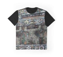 Wat Arun Sculpture Graphic T-Shirt
