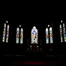 Windows of St Paul's by Alfredo Estrella