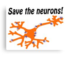 Fight for MS Sufferers - We're no where near a cure, we don't even know why we have it! Canvas Print