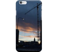 Reykjavik under construction iPhone Case/Skin