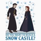 Do You Want to Build a Snow Castle? by JenSnow