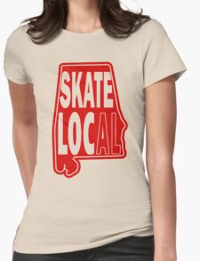 skate local Womens Fitted T-Shirt