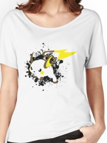 Raichu Splatter Women's Relaxed Fit T-Shirt