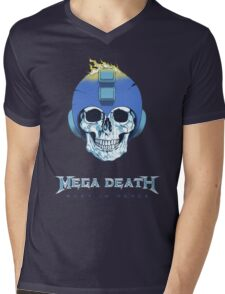 Mega Death Mens V-Neck T-Shirt