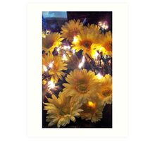 Flower Decorations Art Print
