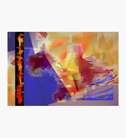 Abstract symbolism one Photographic Print