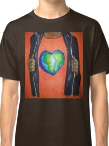 Heart for the world Classic T-Shirt