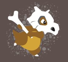 Cubone Splatter by adhpv